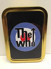 The who Target  Rock Band, Scooter Mods Music Cigarette Tobacco Storage 2oz Tin