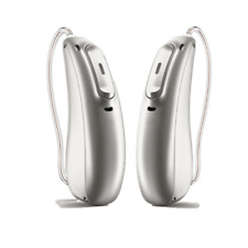 Pair Phonak Marvel Audeo RT Rechargeable Telecoil Bluetooth Hearing Aids