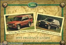 1999 Land Rover Brochure/Catalog: DISCOVERY series 2 II r,RANGE ROVER 4.6,HSE,SE