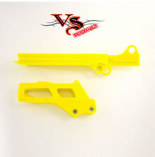 Polisport Guía De Cadena & Control Deslizante Kit Suzuki RMZ250 12-17 Amarillo