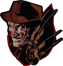 Freddy Krueger Big Embroidered Patch Horror Movie Back A Nightmare On Elm Street