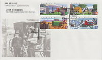 CANADA #1849-1852 46¢ RURAL MAILBOXES FIRST DAY COVER