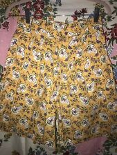 """Vintage Anne Marie Les Olivades Floral shorts Rate Beautiful Pattern Cotton 26"""""""