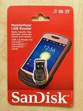 Sandisk MobileMate USB 2.0 Reader for microSD, microSDHC, microSDXC Cards