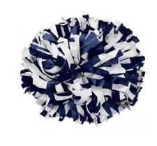 "6"" Plastic 2 Color Baton Handle Cheerleading Pom Pom"
