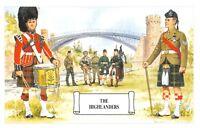Postcard The Highlanders, Telford's Bridge, Craigellachie by Geoff White