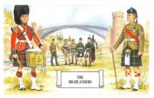 Postcard The Highlanders, Telford's Bridge, Craigellachie by Geoff White