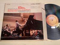 Bruno Walter Wagner Overtures LP Columbia Masterworks 6 Eye MS 6149 STEREO VG