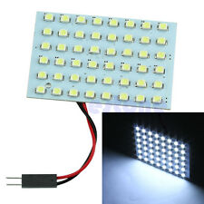 12V 48-LED 3528 SMD Universal Fit Dome Map Interior Bright White Light Bulb Lamp