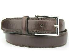 "M&S Brown Wine Genuine Leather Belt Size 30""-32"" 76cm-81cm"