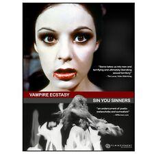 Joe Sarno Retrospect Series Vol. 1: Vampire'S Ecstasy / Sin You Sinners (Dvd)