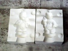 """5"""" ASIAN GIRL WITH PUPPY, ALBERTAS A267, Slip Casting Ceramic Mold"""