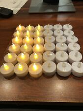 36 Count Led Tea Light Battery Candles New In Box Free Shipping