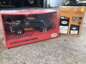NIB Testors 57 chevy .049 engine powered racer ...... Cox gas tether car