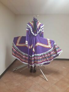 Jalisco Mexican Folklorico Dress