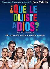Que Le Dijiste A Dios DVD NEW Teresa Suarez CON ROLAS DE JUAN GABRIEL