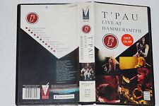 T' PAU -Live At Hammersmith- VHS-Kassette
