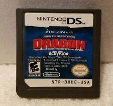 HOW TO TRAIN YOUR DRAGON version USA (Nintendo DS) GAME TESTED & WORKS!