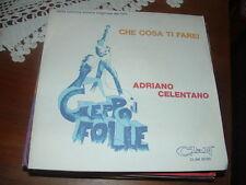 """ADRIANO CELENTANO """" GEPPO - CHE COSA TI FAREI """" O.S.T. ITALY'79"""