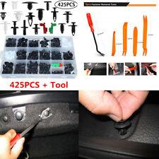 425PCS Car Body Trim Clips Retainer Bumper Rivets Screw Panel Push Fastener Kit