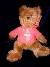 "Boyds Bears ""Anthony"" 8"" Coca Cola® Plush Bear-#919947 - Nwt-2 00004000 006- Retired"