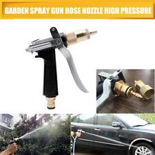 Car Garden Watering Hose Spray Gun Pistol Grip Trigger Brass Nozzle Sprinkler