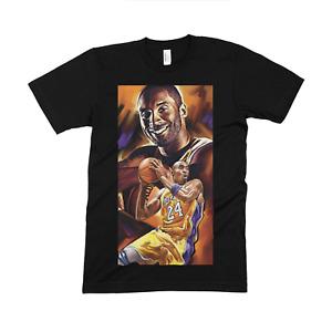 "Kobe Bryant Legend HUGE 20"" PRINT High Quality American Apparel T-shirt"