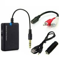 AUX TO BLUETOOTH TRANSMITTER WIRELESS RCA ADAPTER AUDIO CONVERTER RECEIVER M8R9