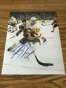 Brandon Tanev Autographed 8x10 Photo Pittsburgh Penguins Jets