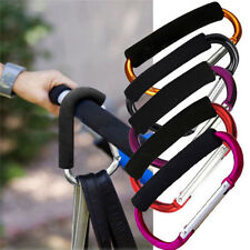 Universal Large Buggy Mummy Clip Pram Pushchair Shopping Bag Hook Carabiner 1pc&