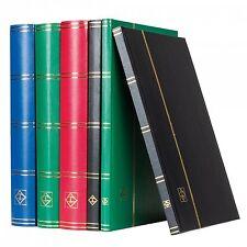 Leuchtturm BASIC Stockbook DIN A4, 16 black pages, non-padded Binding