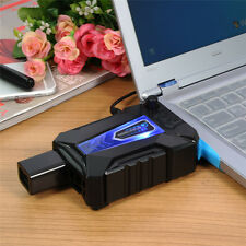 For Notebook Laptop PC Mini LED Vacuum Air Extracting USB Cooling Pad Cooler Fan
