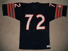 Vintage Chicago Bears Football Jersey Sand Knit #72 William Perry The Fridge Med