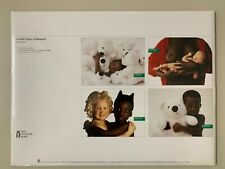 PORTFOLIO OF BENETTON,OLIVIERO TOSCANI,SET OF 4 PRINTS,1990's ART  PHOTO PRINTS