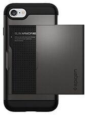 Spigen Coque iPhone 7, [Slim Armor CS] Slim Fit double couche de protection