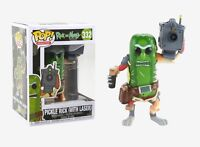 Funko Pop Animation: Rick and Morty - Pickle Rick (w/ Laser) Vinyl Figure Gift