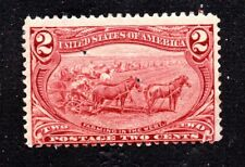 Scott #286 1898 2¢ Farming, Mint Fine - Hinged Og