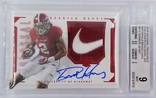 Derrick Henry 2016 National Treasures Rookie NIKE Patch Auto SSP 2/2 BGS MINT 9