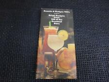 1979 Benson & Hedges Drink Recipes from 100 Greatest Bars Bartender Guide Book