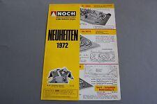 X273 NOCH Train maquette decor depliant Ho Neuheiten revue 1987 deutsch Katalog