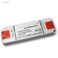 "LED Trafo ""SLIM"" 12V DC 20W Transformator für LEDs EVG Treiber, Driver, Netzteil"