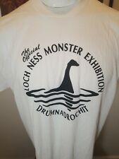 Vintage The Official Loch Ness Monster Exibition Drumnadrochit T Shirt 2Xl