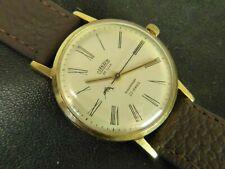 Cornavin LUCH De luxe slim poljot USSR wristwatch 2209 Gold plated Au 23 j