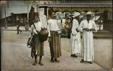 Egypt Lemonade Sellers Vendors c1910 Used Postcard