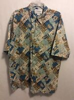 Vintage Kalaheo Hawaiian Shirt Size XL Men's