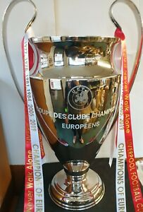 "LIVERPOOL Champions League Replica 1:1 Scale Full Size Metal  32"" High (81 cms)"