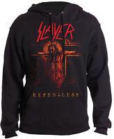 SLAYER Repentless Crucifix HOODIE SWEATSHIRT OFFICIAL MERCHANDISE