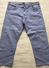 GANT Mens Regular Grey Zip Fly Casual Chino Trousers Jeans Waist 42 X Leg 34