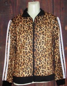 MENS FOREVER 21 CHEETAH LEOPARD ANIMAL PRINT JACKET SIZE M