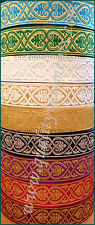 """NEW!!! Church religious  trim  galloon  """"Athos""""  2 1/4""""  6 cm width many colors"""
